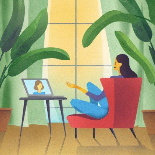 Sitzung mit Psychologen Online