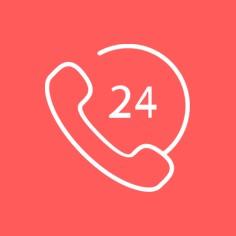 24H-Hotline<br>für Termine